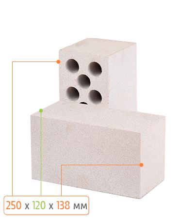 Камень силикатный Л-150 Цвет: белый